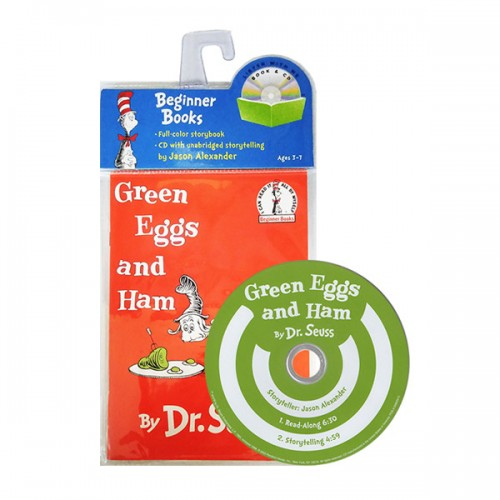 Green Eggs and Ham (Paperback & CD)