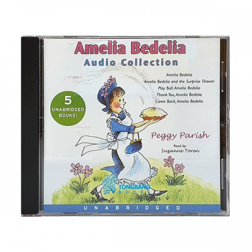 Amelia Bedelia Audio Collection (5 Story, 1 CD)(도서미포함)