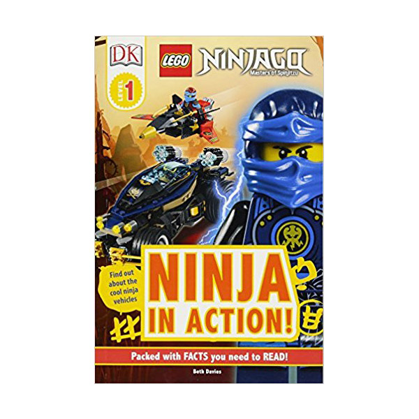 DK Readers Level 1 : Lego Ninjago : Ninja in Action (Paperback)