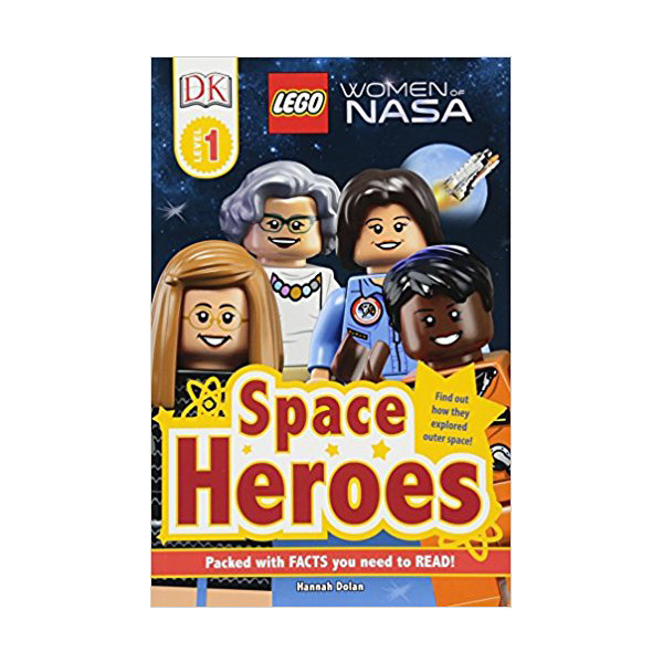 DK Readers Level 1 : LEGO Women of NASA: Space Heroes (Paperback)