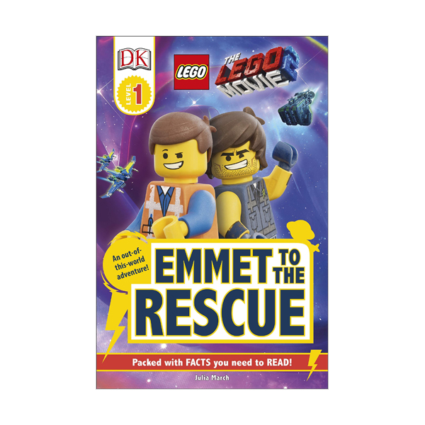 DK Readers Level 1 : THE LEGO® MOVIE 2 Emmet to the Rescue (Paperback)