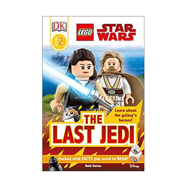 DK Readers Level 2 : LEGO Star Wars: The Last Jedi (Paperback)