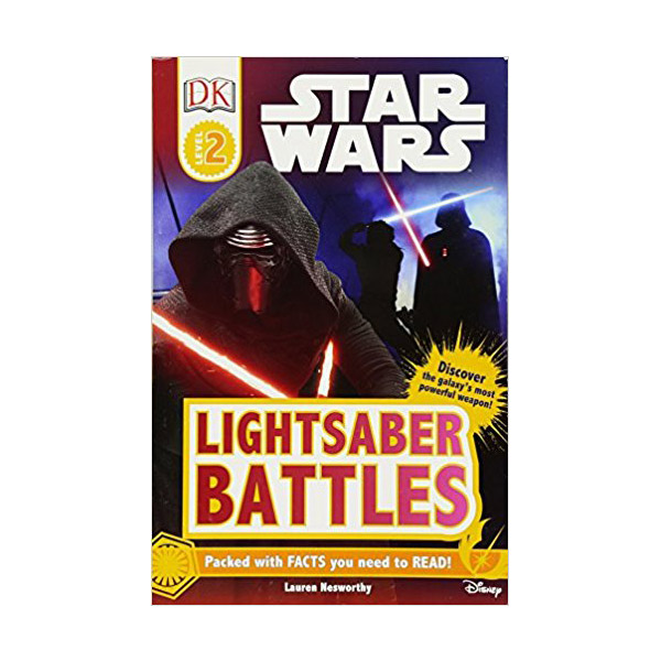 DK Readers Level 2 : Star Wars : Lightsaber Battles(Paperback)