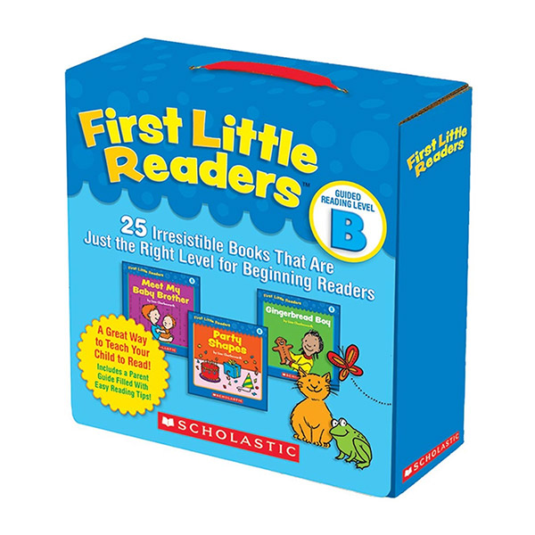 First Little Readers Reading Level B (Box, 25 books)