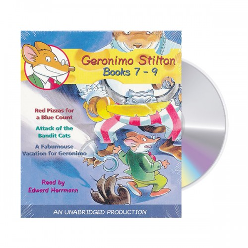 Geronimo Stilton Audio CD : Books #07-09 (도서미포함)