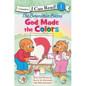 I Can Read Book Level 1 : The Berenstain Bears, God Made the Colors (Paperback)