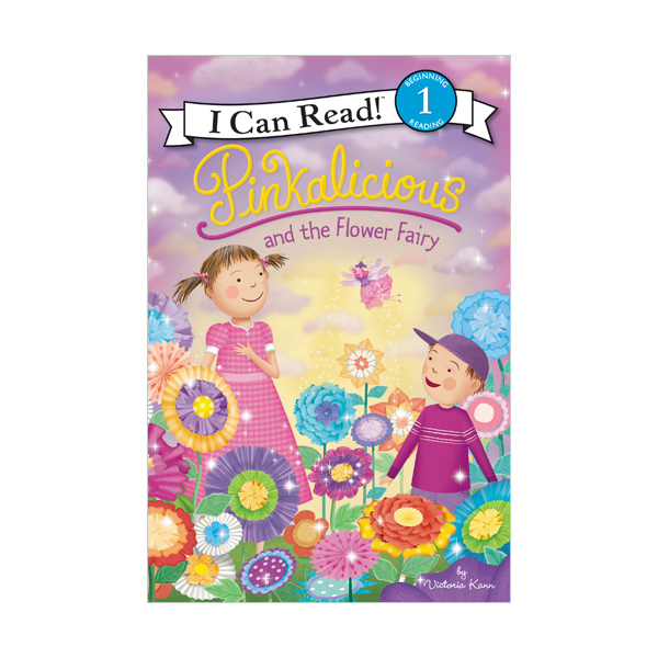 I Can Read Level 1 : Pinkalicious and the Flower Fairy (Paperback)