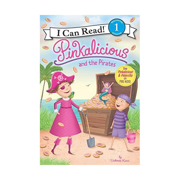 I Can Read 1 : Pinkalicious and the Pirates (Paperback)