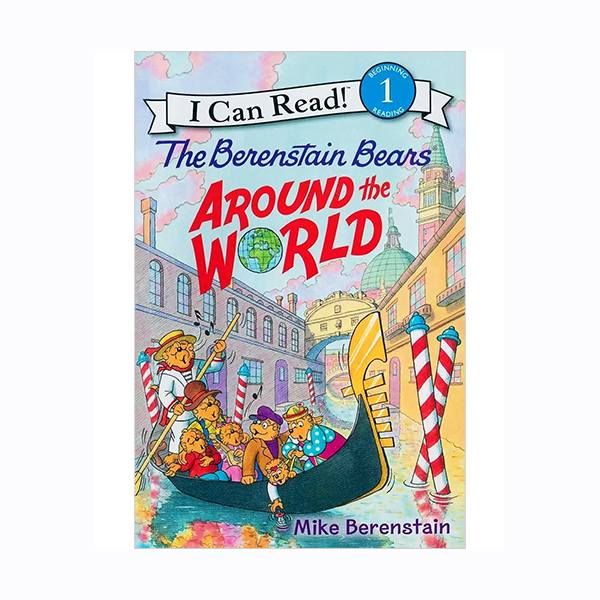 I Can Read Level 1 : The Berenstain Bears Around the World (Paperback)