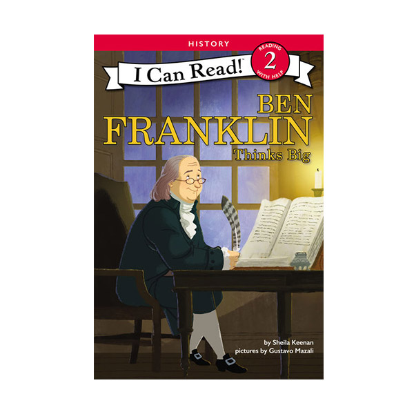 I Can Read Level 2 : Ben Franklin Thinks Big (Paperback)