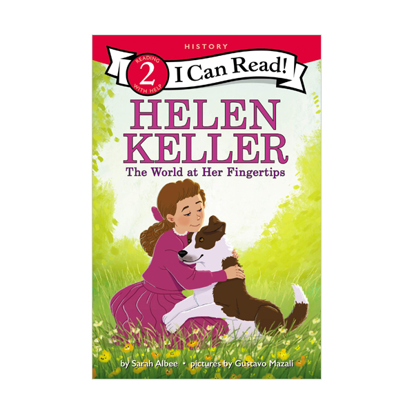 I Can Read Level 2 : Helen Keller : The World at Her Fingertips (Paperback)