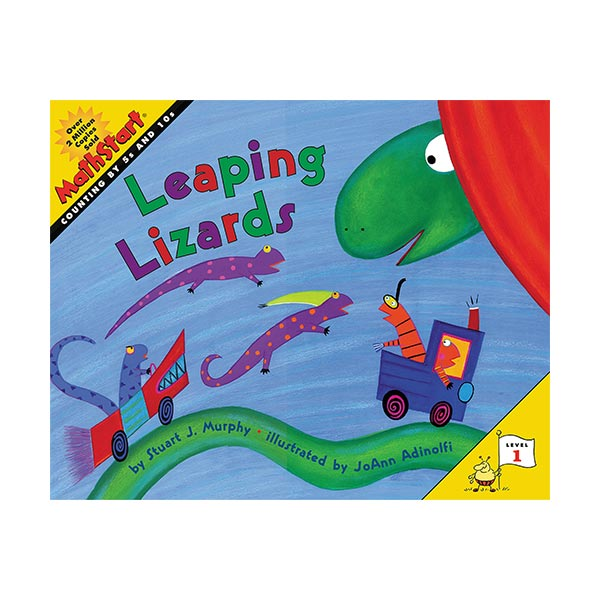 MathStart 1 : Leaping Lizards (Paperback)