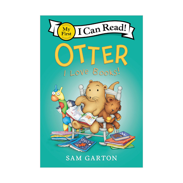 My First I Can Read : Otter: I Love Books! (Paperback)