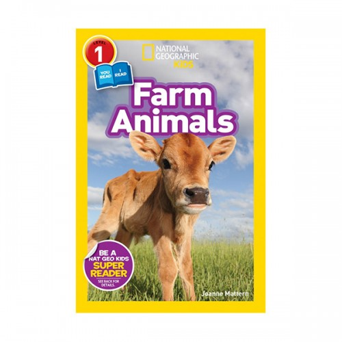 National Geographic Kids Readers Level 1 : Farm Animals (Paperback)