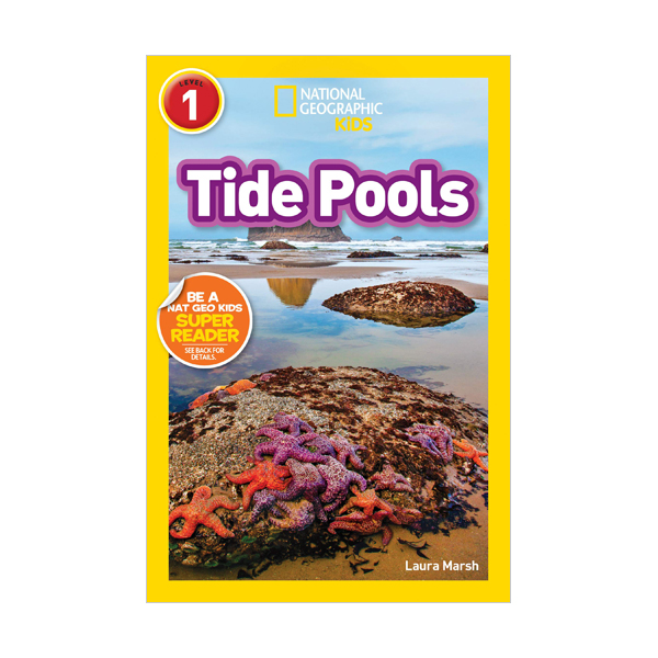 National Geographic Kids Readers Level 1 : Tide Pools (Paperback)