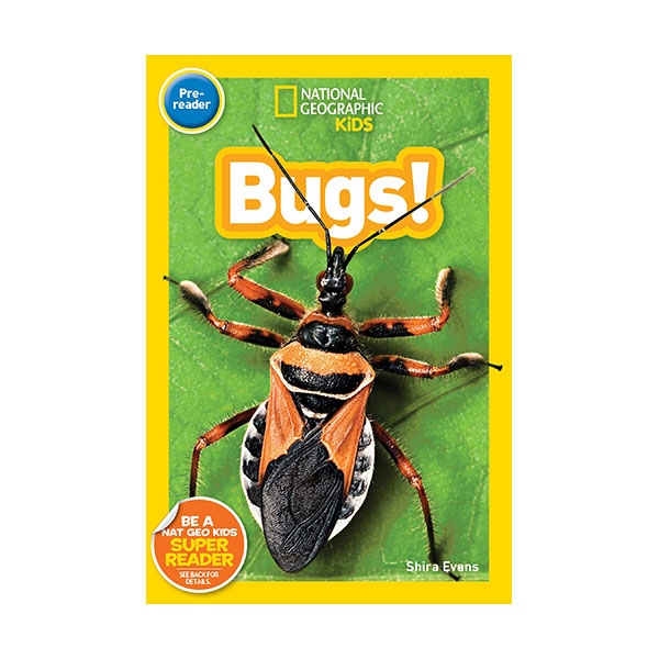 National Geographic Kids Readers Pre-Reader : Bugs (Paperback)