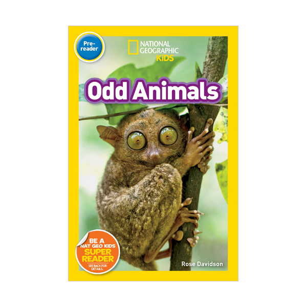 National Geographic Kids Readers Pre-reader : Odd Animals (Paperback)