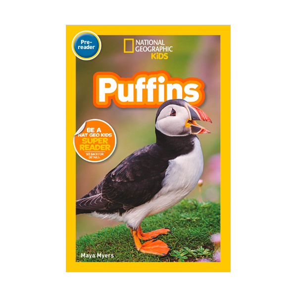 National Geographic Kids Readers Pre-reader : Puffins (Paperback)