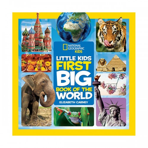 National Geographic Little Kids First Big Book of the World (Hardcover)