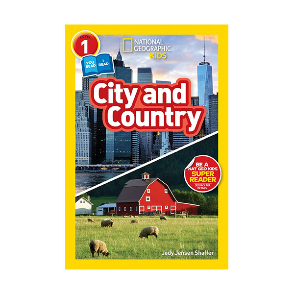 National Geographic Readers 1 : Co-readers : City/Country (Paperback)