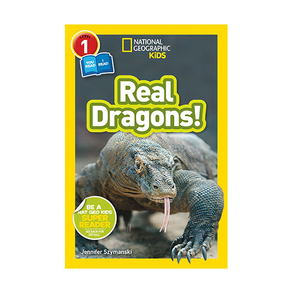 National Geographic Readers 1 : Co-readers : Real Dragons (Paperback)