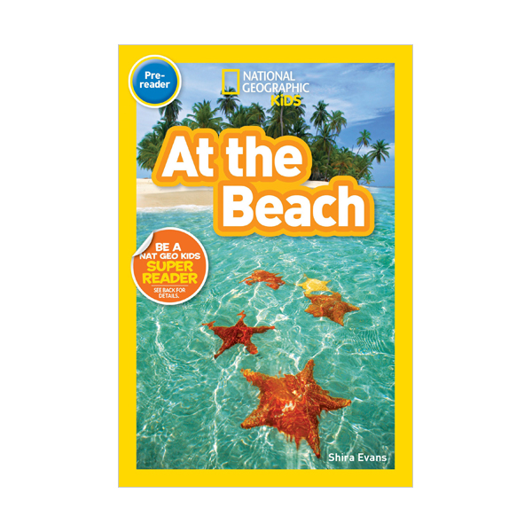 National Geographic Readers Pre-Reader : At the Beach (Paperback)