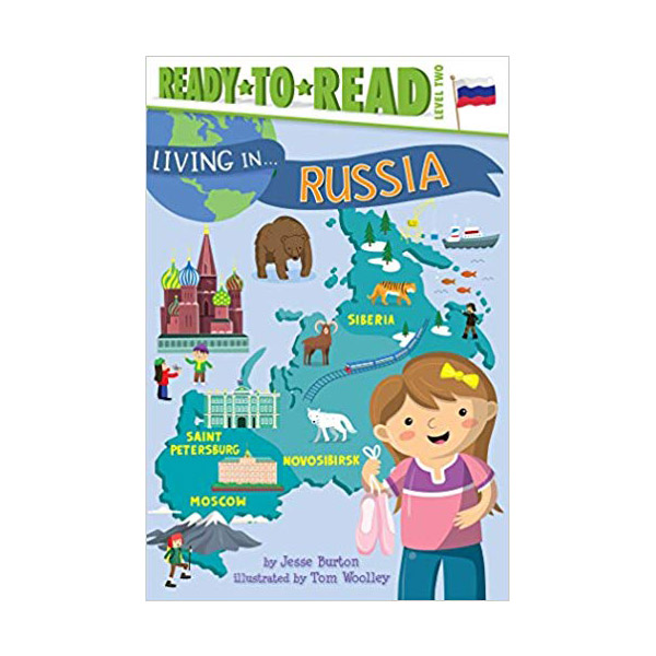 Ready To Read 2 : Living in . . . Russia (Paperback)