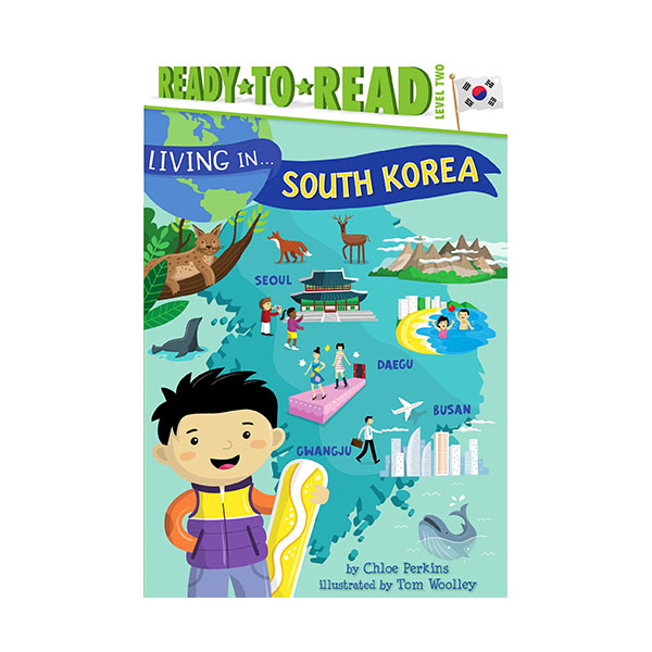 Ready To Read 2 : Living in . . . South Korea (Paperback)