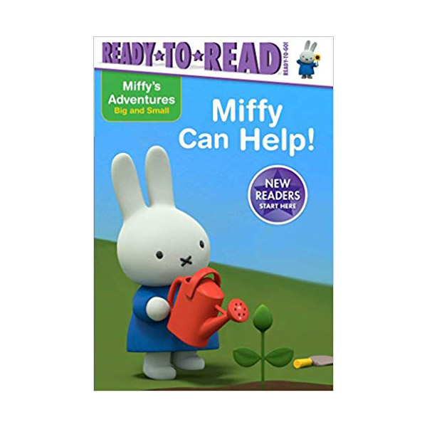 Ready to Read : Ready to Go : Miffy Adventures Big and Small : Miffy Can Help! (Paperback)