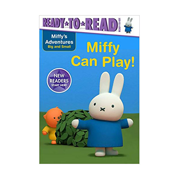Ready to Read : Ready to Go : Miffy Adventures Big and Small : Miffy Can Play (Paperback)