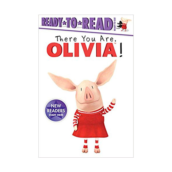 Ready to Read : Ready to Go : Olivia : There You Are, Olivia! (Paperback)