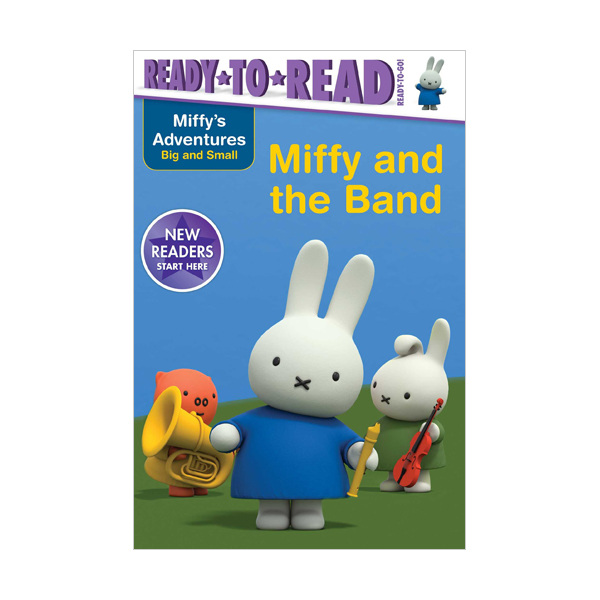 Ready To Read Pre : Ready to Go : Miffy and the Band (Paperback)