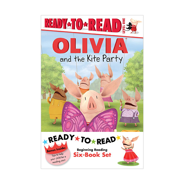 Ready-to-Read Level 1 : Olivia TV Tie-In: Olivia TV Tie-In: Value Pack #2 (Paperback, 6종)