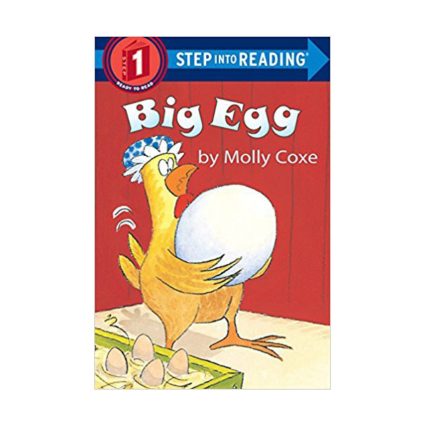 RL 0.4 : Step Into Reading 1 : Big Egg (Paperback)