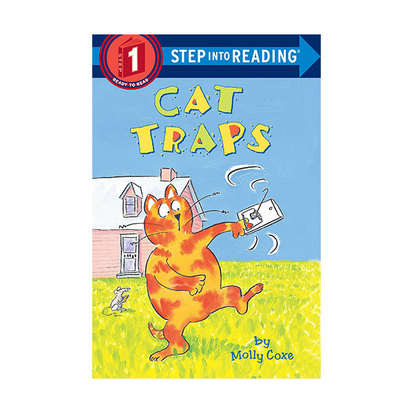 RL 0.4 : Step Into Reading 1 : Cat Traps (Paperback)