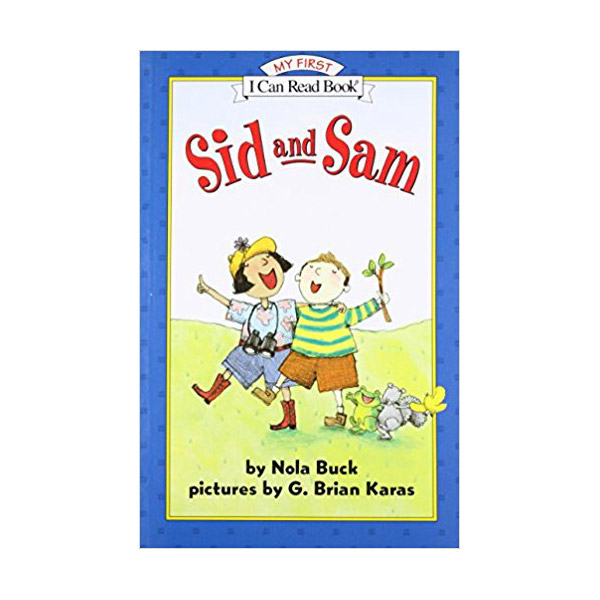 RL 0.5 : My First I Can Read : Sid and Sam (Paperback)