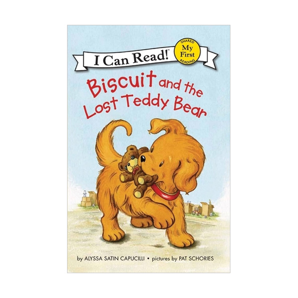 RL 0.7 : My First I Can Read : Biscuit and the Lost Teddy Bear (Paperback)