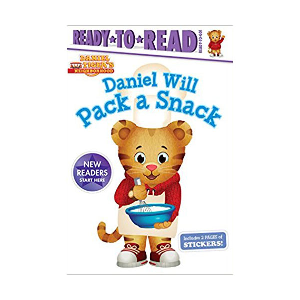 RL 0.7 : Ready To Read : Ready to Go : Daniel Will Pack a Snack (Paperback)
