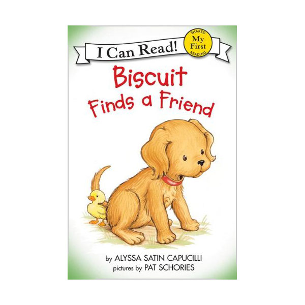 RL 0.8 : My First I Can Read : Biscuit Finds a Friend (Paperback)
