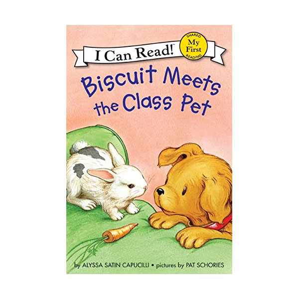 RL 0.8 : My First I Can Read : Biscuit Meets the Class Pet (Paperback)