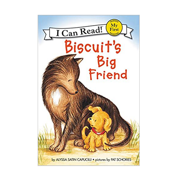 RL 0.8 : My First I Can Read : Biscuit's Big Friend (Paperback)