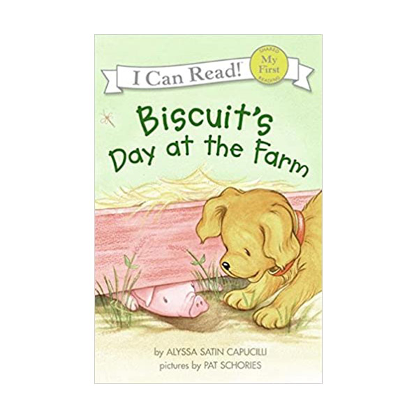 RL 0.8 : My First I Can Read : Biscuit's Day at the Farm (Paperback)