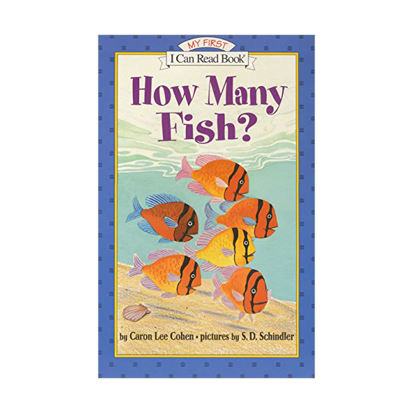 RL 0.8 : My First I Can Read : How Many Fish? (Paperback)