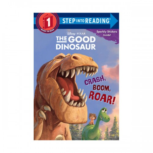 RL 0.8 : Step Into Reading 1 : Disney/Pixar The Good Dinosaur : Crash, Boom, Roar! (Paperback)