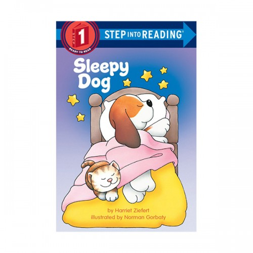 RL 0.8 : Step Into Reading 1 : Sleepy Dog (Paperback)