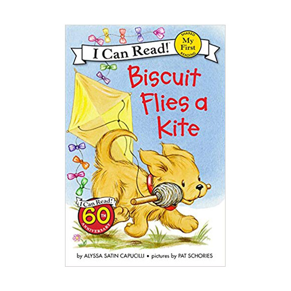 RL 0.9 : My First I Can Read : Biscuit Flies a Kite (Paperback)