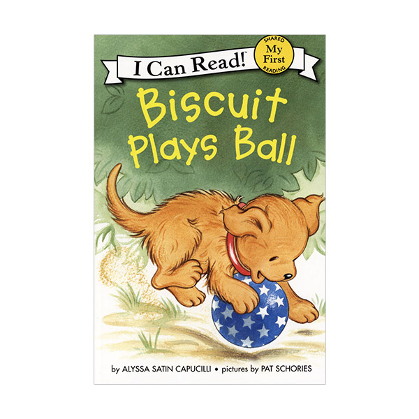 RL 0.9 : My First I Can Read : Biscuit Plays Ball (Paperback)