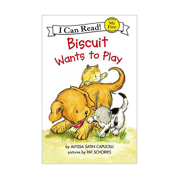 RL 0.9 : My First I Can Read : Biscuit Wants to Play (Paperback)
