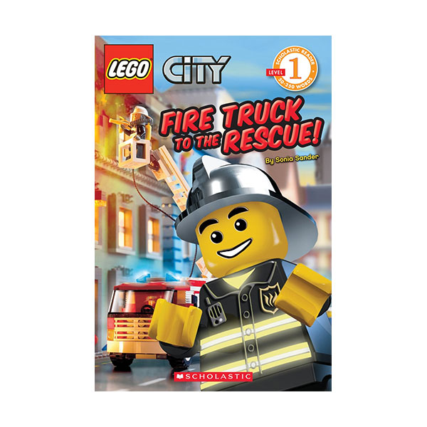 RL 0.9 : Scholastic Reader 1 : LEGO City : Fire Truck to the Rescue! (Paperback)