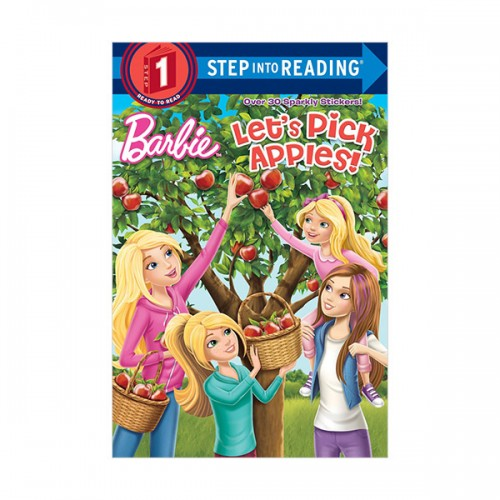 RL 0.9 : Step into Reading 1 : Barbie : Let's Pick Apples! (Paperback)